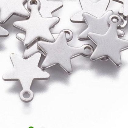 חמישה תליוני כוכב כסופים