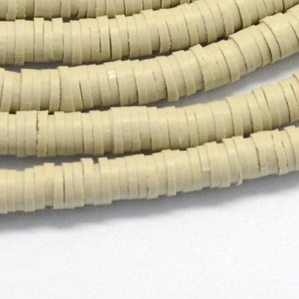 """חרוזי סיליקון בצבע חול  6 מ""""מ"""