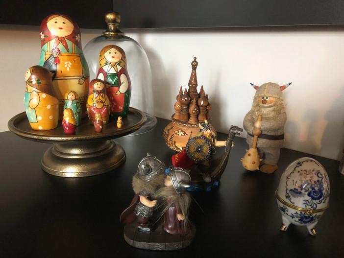Miniaturas: colecionar para enfeitar