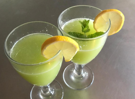 Découvrez le jus détox et amincissant :concombre, citron, gingembre