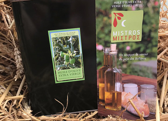 Huile Olive (bidon) extra vierge * (3L)