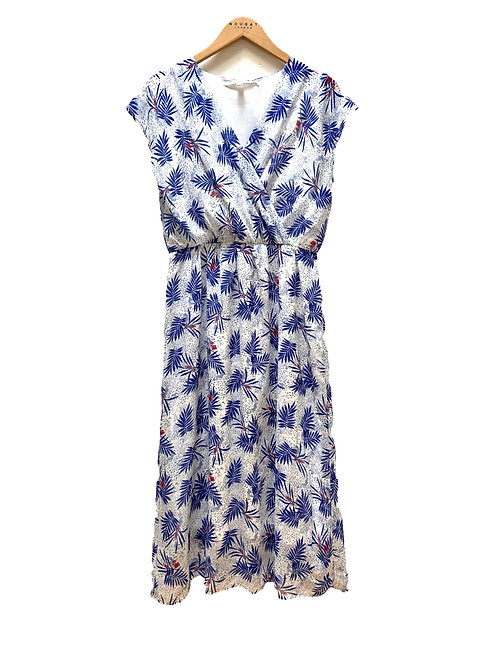 Whitby Wrap Front Dress