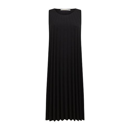Chicago Pleated Dress - Black