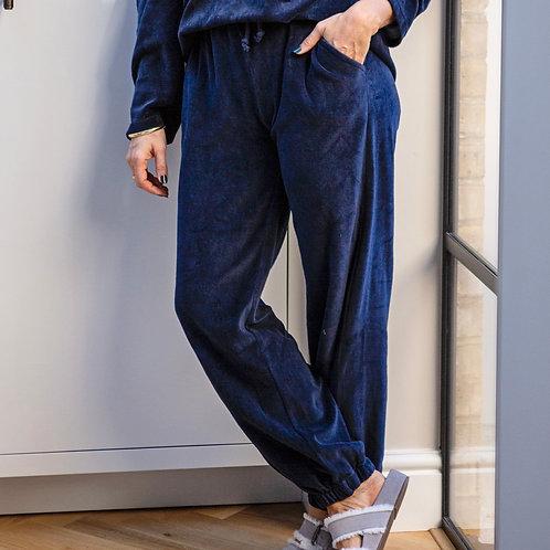 Windsor Indigo Lounge Pant With 2 Side Pockets