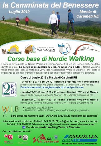NORDIC WALKING A MAROLA