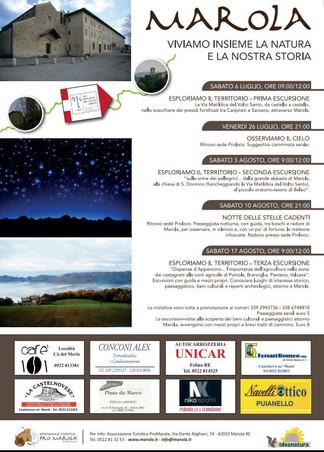 Marola 2019: le iniziative in collaborazione con Pro Marola