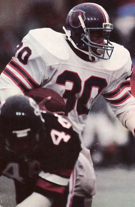 1984 Heisman Trophy winner Mike Rozier rushed for only 792 yards for the Maulers.jpg
