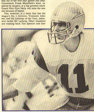 George Allen looked to QB Greg Landry to