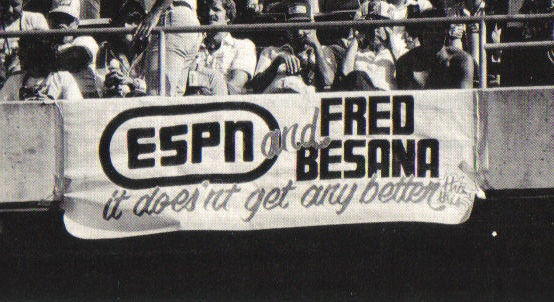 QB Fred Besana gets support from Oakland