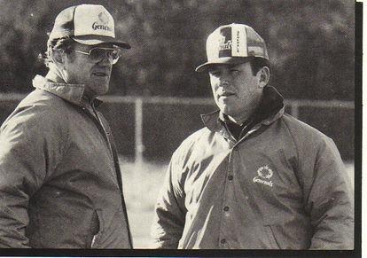 Walt Michaels with offensive coordinator