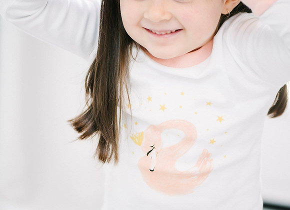 Pyjama Nene Kids - Cygne Rose