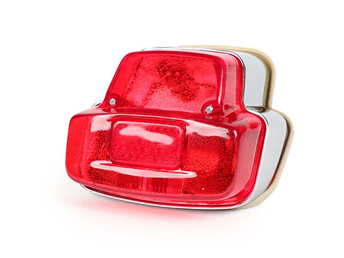 VESPA SPRINT CHROME REAR BACK LIGHT UNIT
