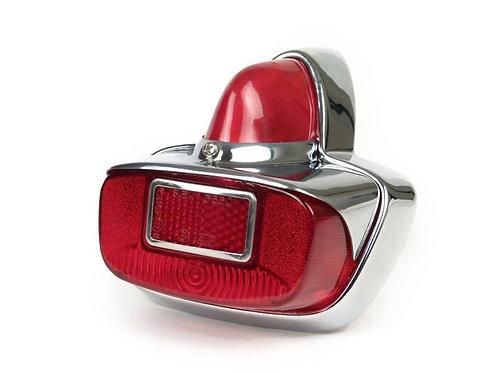 VESPA GS CHROME REAR BACK LIGHT UNIT