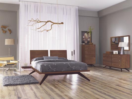 Astrid Bedroom in Walnut