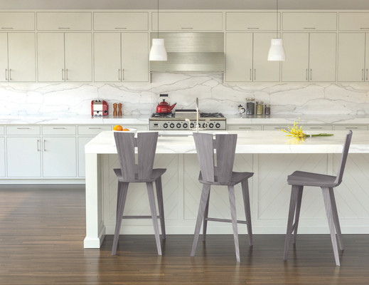 Axis Counter Stools in Weathered Ash