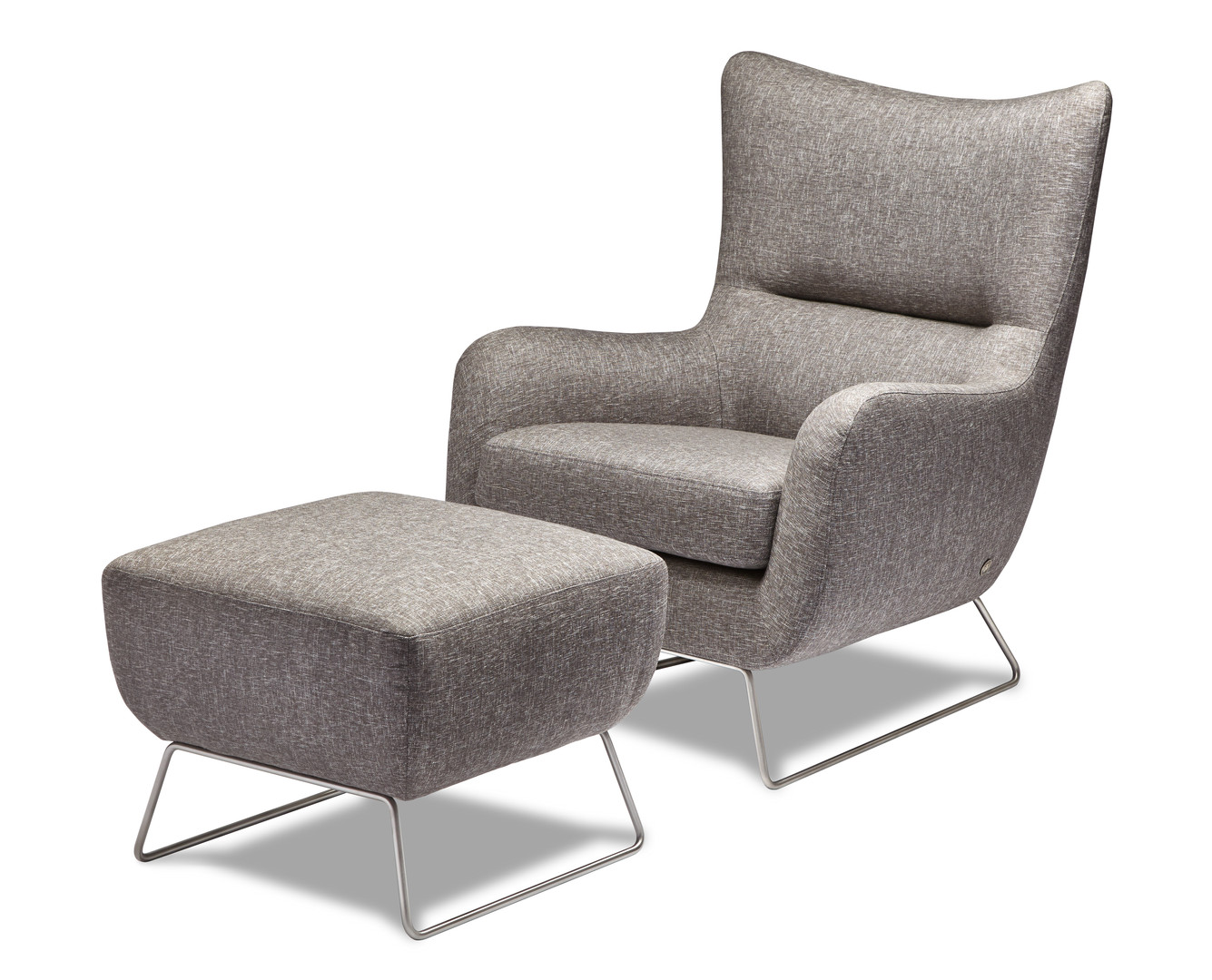 Liam Chair and Ottoman