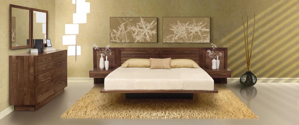 Moduluxe Bedroom in Walnut