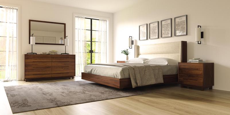 Sloane Bedroom in Walnut