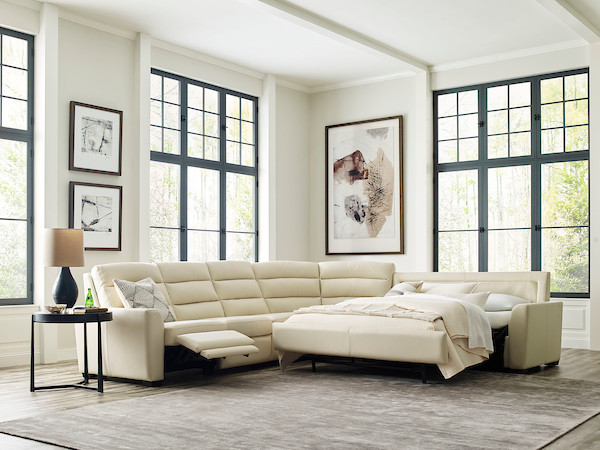 Napa Sleeper Reclining Sectional