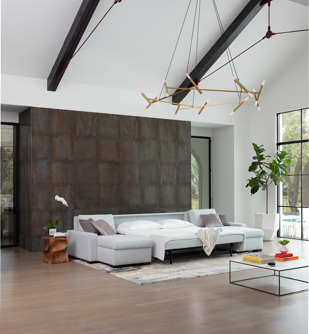 Rogue Sleeper Sectional from American Leather