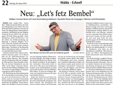 Neu: Let's fetz Bembel