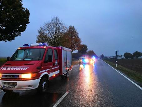 Verkehrsunfall am Reichelsheimer Pappelhof
