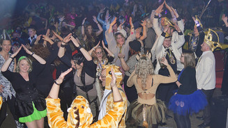 Rosenmontagsparty und Disco
