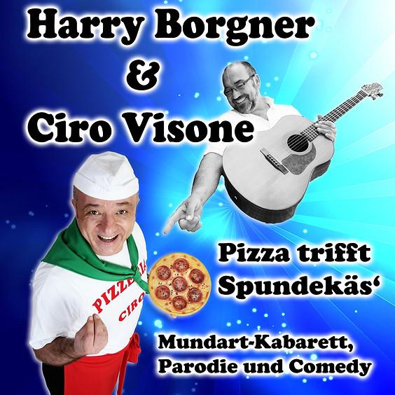 """Pizza trifft Spundekäs"" mit Ciro Visone & Harry Borgner"