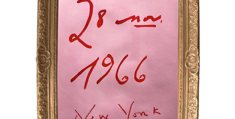 28 Nov. 1966, New York