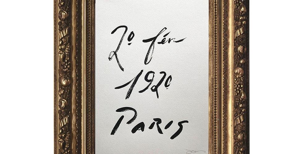 20 Févr. 1920, Paris