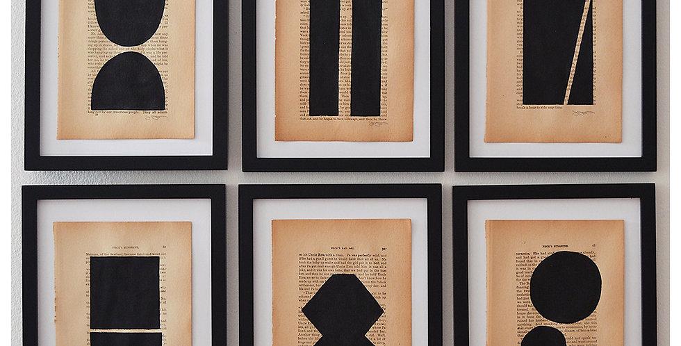 6-piece collection - Noir