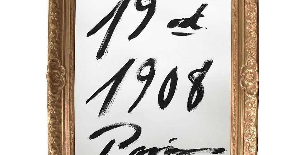 19 Oct. 1908, Paris