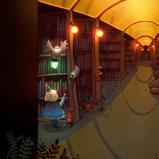 The Twilight Library
