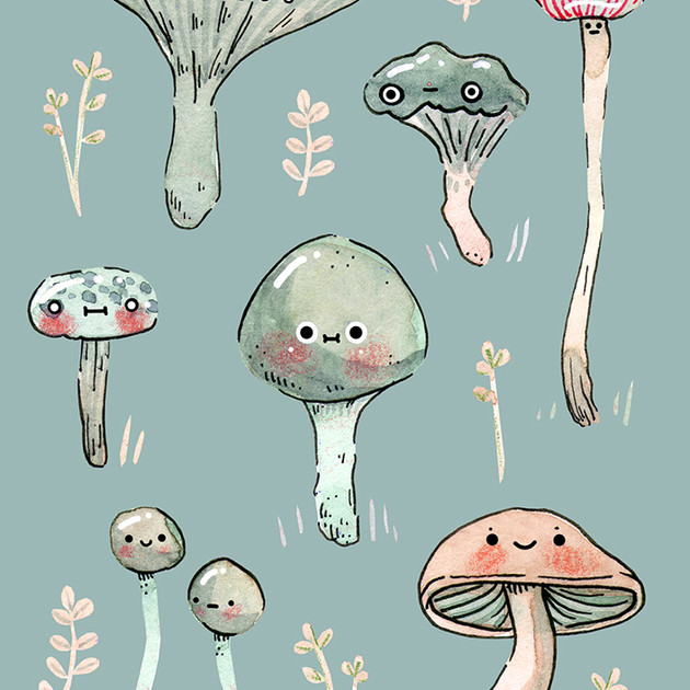 Field Mushfriends