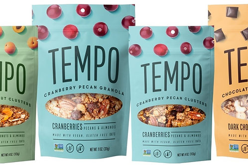 Combo Pack - 3 All Day Granola (11oz.) and  3 Granola Clusters (4oz.)