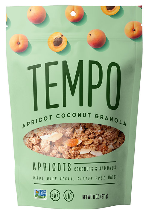 Apricot Coconut All Day Granola (11oz. bags) 4 pack