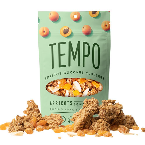 Apricot Coconut Granola Clusters (4oz. bags) 6 pack