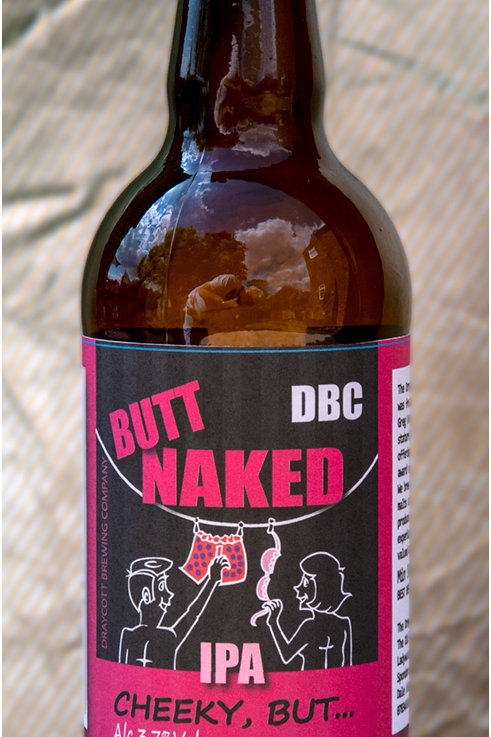 Butt Naked: Cheeky, But IPA - 12 case