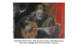 Drew paints Byron
