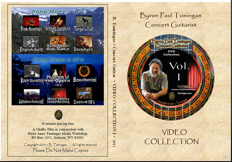 Byron's Concert Video Collection Vol I