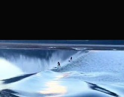Surfing the Bore Tide