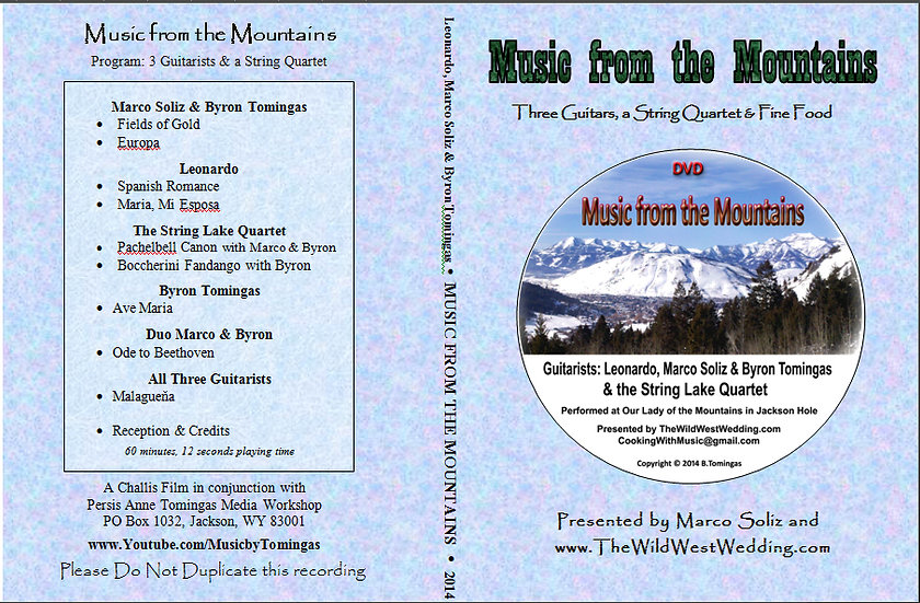 Music of the Mountains Concert