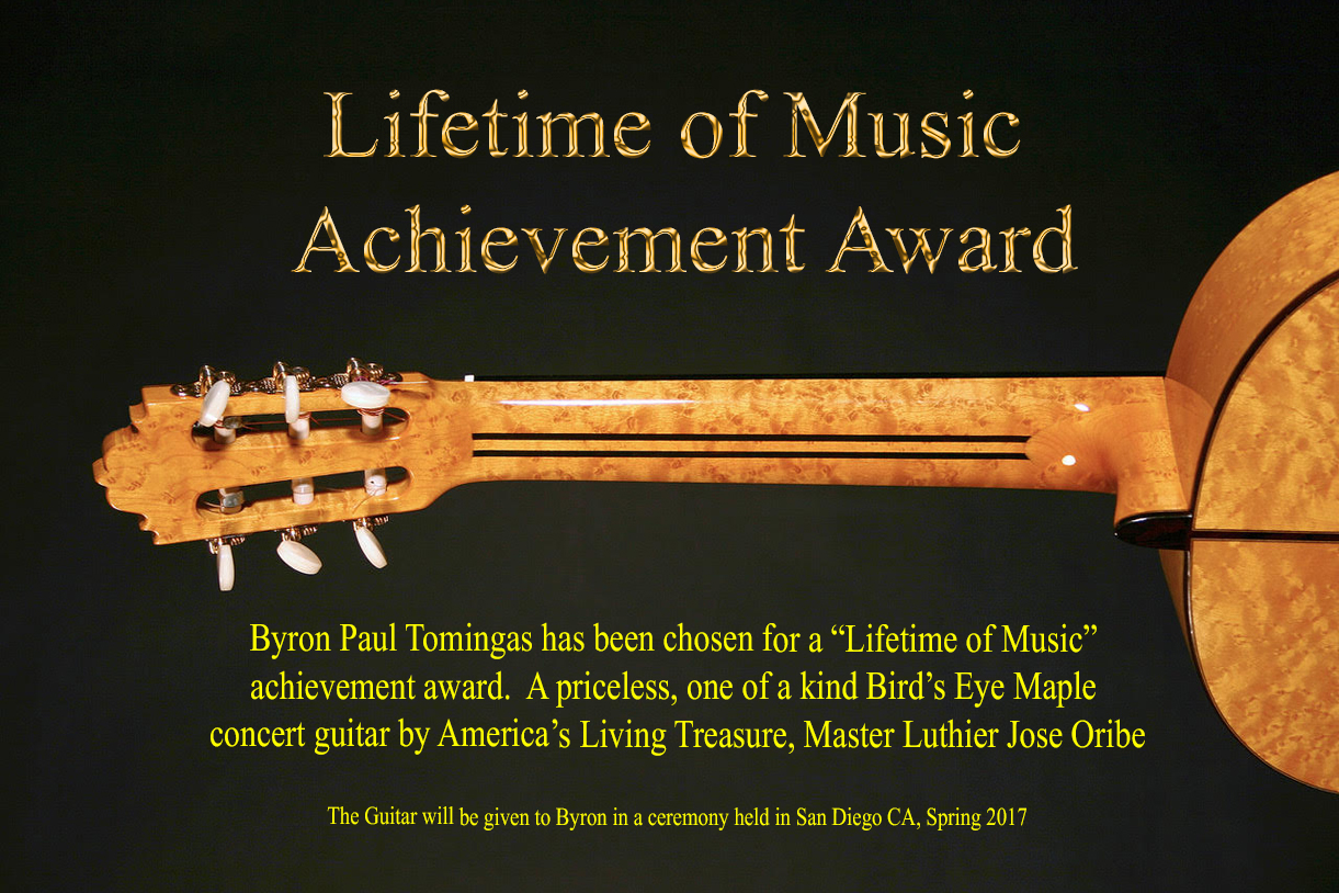 .Lifetime Music Achievement Award