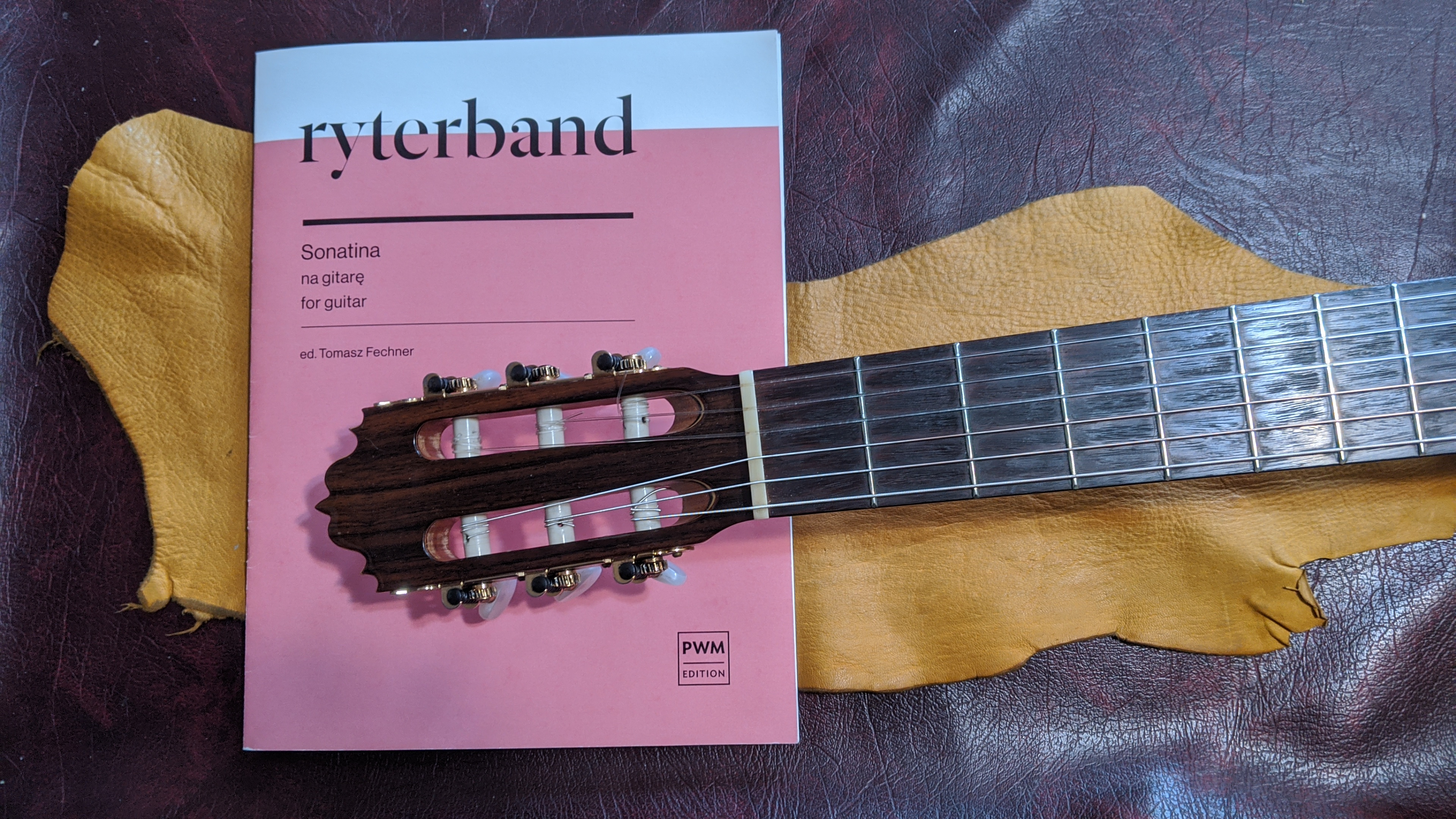 Roman Ryterband Sonatina for Guitar