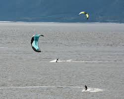 Kite Surfer Turnagain