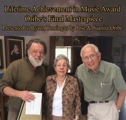 .Oribes Present Award