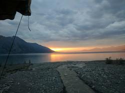 Midnight Sunset in the Yukon