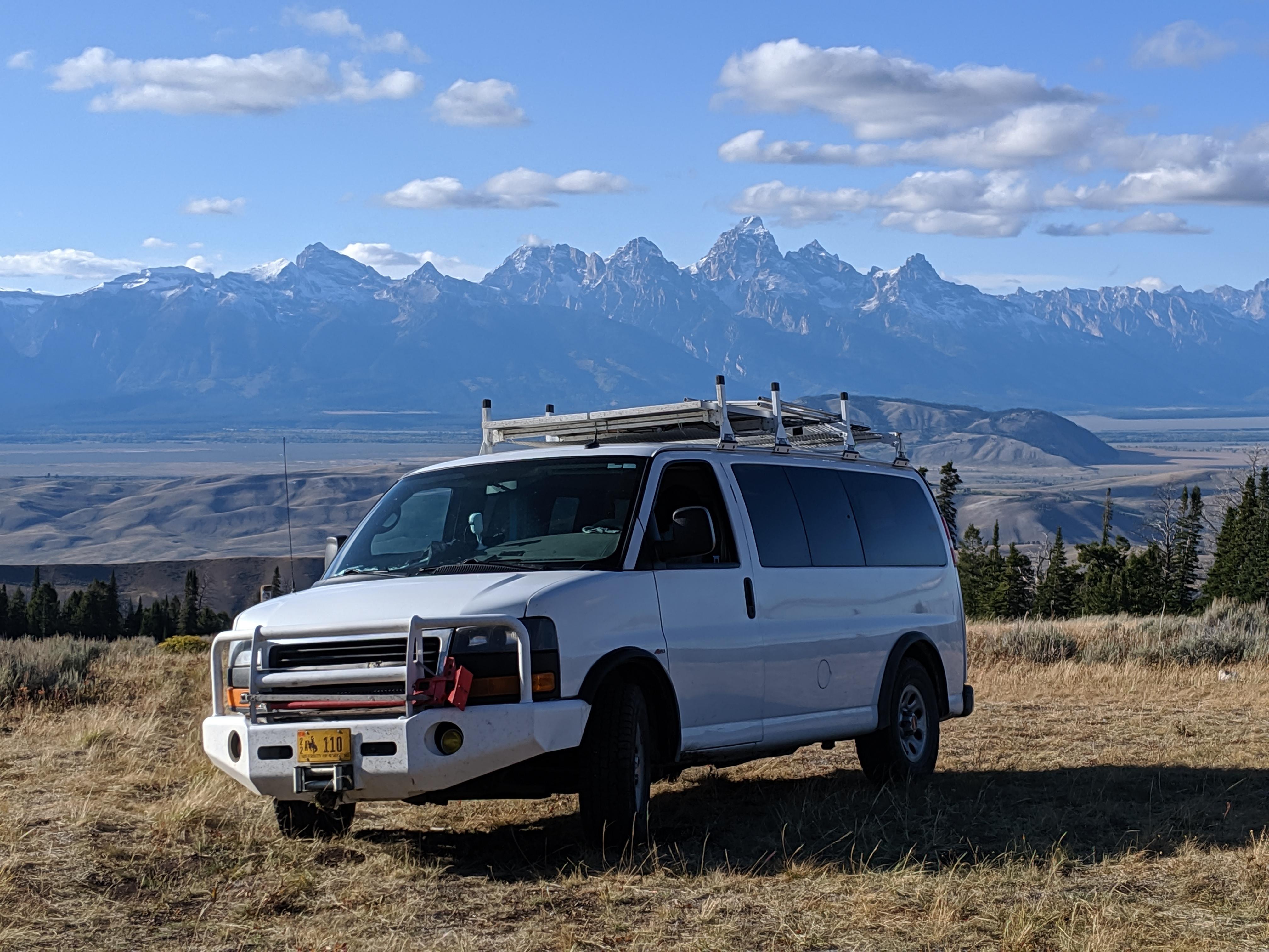 The Teton Mountain Range