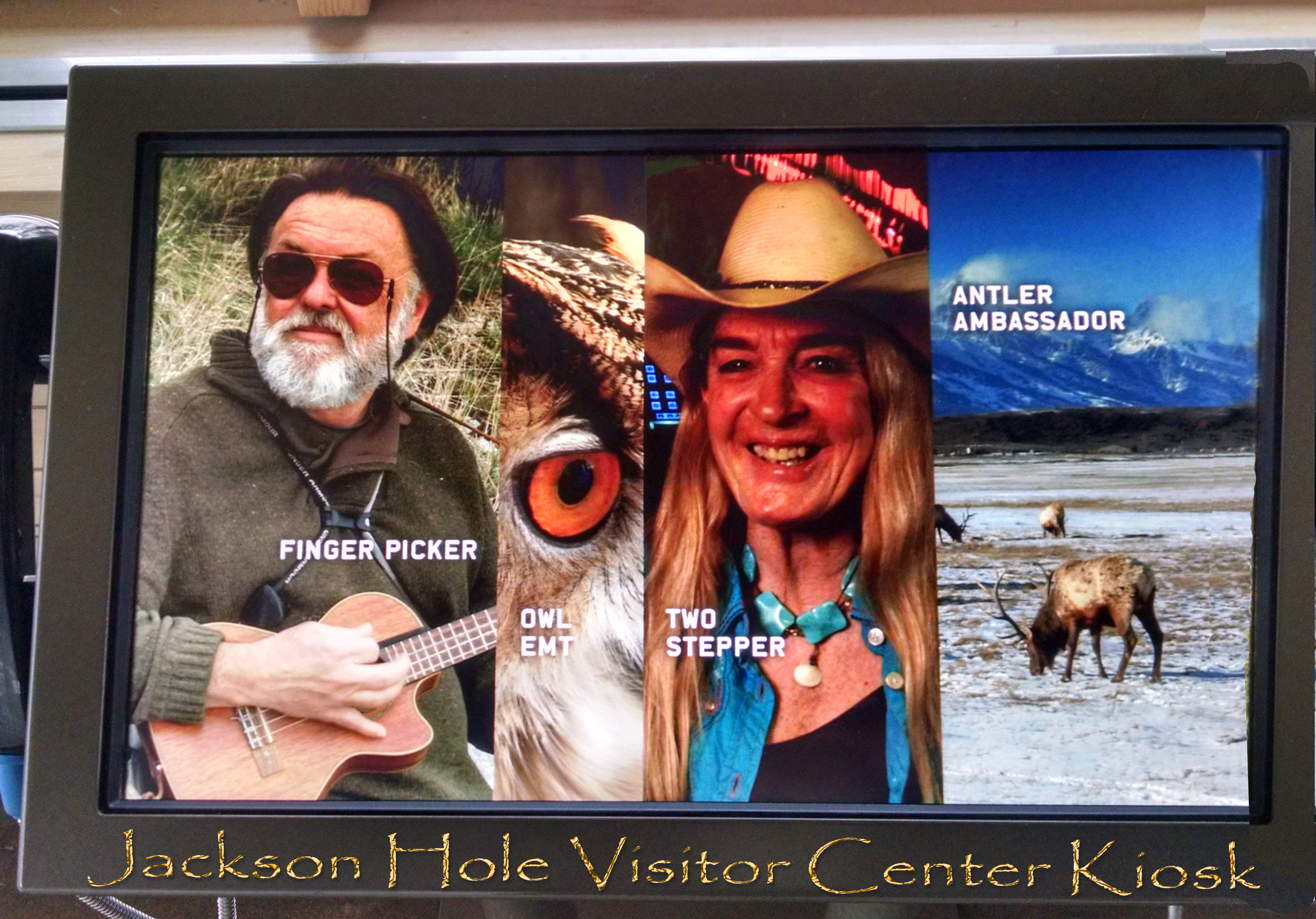 Jackson Hole Visitor Center Kiosk