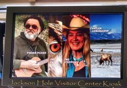 Jackson Hole Visitor Center Kiosk